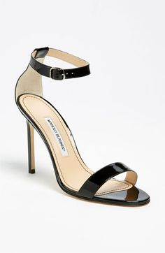 I'd LOVE to have these Manolo Blahnik 'Chaos Cuff' Sandal available at #Nordstrom for summer!