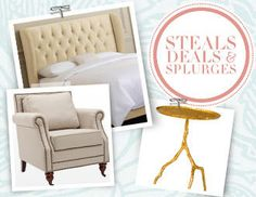 I pinned this from the Steals, Deals & Splurges - Chic Furniture for All Styles & All Budgets event at Joss and Main!