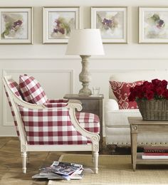 Buffalo Check On Pinterest French Country Bedrooms French Country Dining And French Country