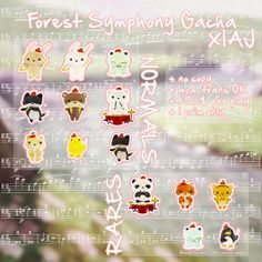 XIAJ + Forest Symphony Animal Gacha @ Forest Spring Concert Mini-Event