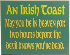 Northwest Gifts - Irish Blessing Plaque, $19.95 (http://northwestgifts.com/irish-blessing-plaque/)
