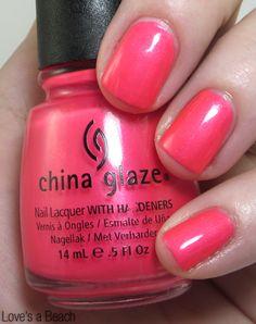 China Glaze - Love's a Beach