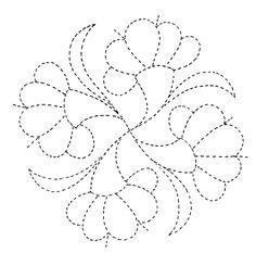 simple flower embroidery, quilt, pattern, flower designs, flower motif