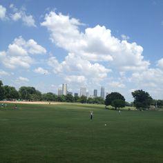 Peace on earth. Zilker Park, Austin, TX.