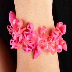 Bubble Gum Doll Shoe Bracelet© by Sara Gallo now featured on Fab.