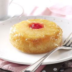 Pineapple Upside-Down Cake for Two
