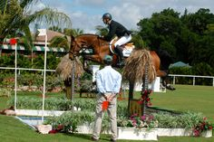 Nayel Nassar takes the over all title in the Artisan Farms Young Rider Grand Prix Series; shown clearing the water with Lordan