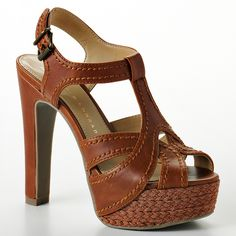 Want! Need! Will def buy!! LC Lauren Conrad Platform Dress Sandals