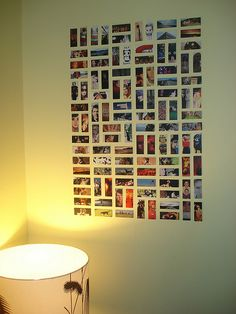 Try using MOO cards to decorate your home