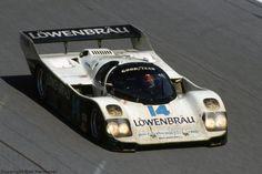 the Holbert Racing Porsche 962  Daytona 1987