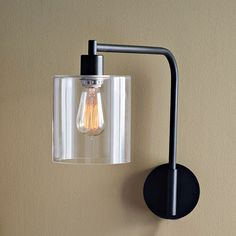 Lens Sconces from #westelm. 2 please, for the bedroom!