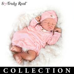Breathing Baby Doll Collection By Linda Webb