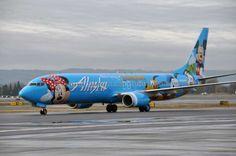 plane alaska, aircraft liveri, fli, log cabins, disneyland trip, airplan crazi, alaska airlin, disneyland plane, disney plane