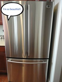 How to clean stainless steel so it is super shiny!