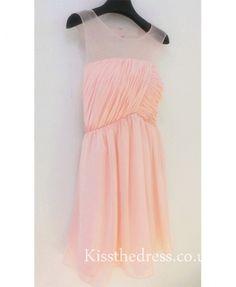 Pink Chiffon Short B