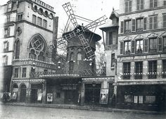 Moulin Rouge from Boulevard de Clichy