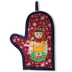 Russian Oven mitt matreshka...I'm ordering this