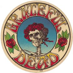 Sticker - 'Grateful Dead'