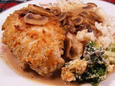 Olive Garden Stuffed Chicken Marsala.