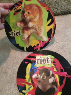 Riot CAT ART by TheEscapistArtist on Etsy, $7.00