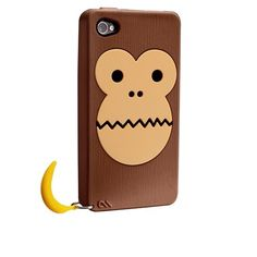 here's a banana, monkey! iphone case