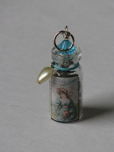 Ink Stains Altered Charm Swap 02-11 044