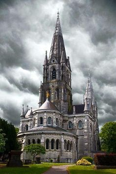 St Fin Barre's Cathedral , Cork, Ireland, from Iryna