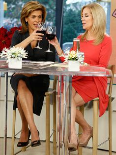 """Workwear: """"Today Show"""" hosts Hoda Kotb and Kathie Lee Gifford, 2012"""