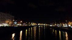 Dublin night bridge