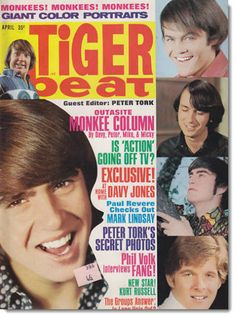 Tiger beat 1967... loved this magazine