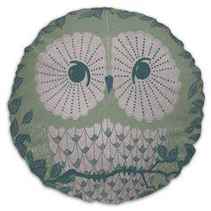Round Owl Cushion