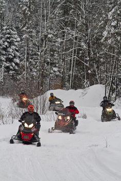 ....snowmobiling