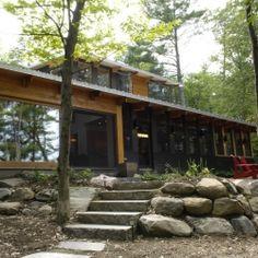 Altius Architecture Inc. | Bala Park Island | Lake Muskoka , Ontario, Canada
