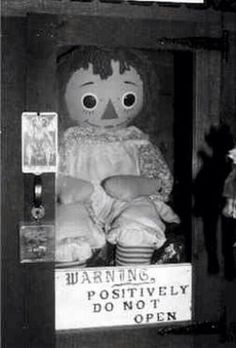 Real doll from the Conjuring