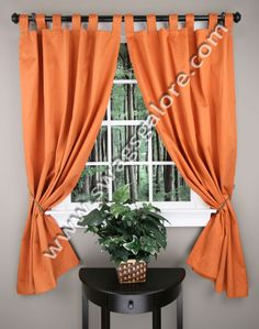 Sophia curtains are a room darkening thermal insulated tab top panel. Sophia has foam thermal backing, the thermal insulation saves energy and reduces heating cost.  #Contemporary #Modern #Curtains