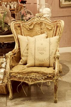 artistic French chair
