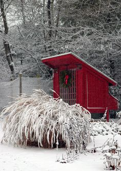 Little Red Hen House.