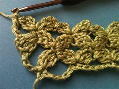 Ventura Lace Technique - crochet tutorial