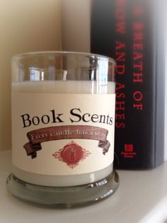 A Breath of Snow and Ashes  Book Inspired by BookScentsCandles