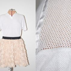 Rose patterned skirt + top.