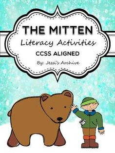 """#TheMittenActivities: 43 pages - Extend the fun of """"The Mitten"""" story by Jan Brett through these creative and engaging activities. This includes Literacy activities, worksheets, graphic organizers, and more which will help your students meet the Common Core State Standards."""