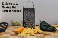 12 SECRETS TO MAKING THE PERFECT NACHOS - No. 9 takes things up a notch! #CookingTip