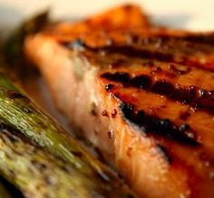"Grilled Salmon: ""We just love salmon, especially grilled, and this glaze complemented it perfectly!"" -GaylaJ"