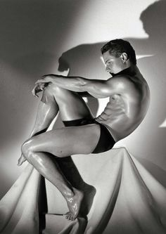 Greg Louganis by Herb Ritts.