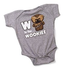 W is for Wookiee