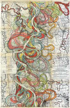 Mississippi Meander Map