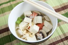 Quick Tofu Ramen Noodle Soup @Julie | The Little Kitchen #food-cooking #healthy #recipe