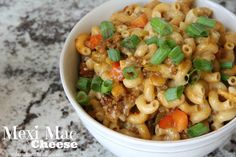 Mix and Match Mama: Dinner Tonight: Mexi Mac & Cheese