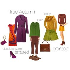 """""""True Autumn - an excercise"""" by silverwild on Polyvore"""