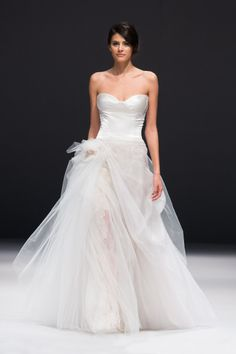 Tulle dress from Jenny Lee Bridal: http://www.stylemepretty.com/2014/10/29/designer-spotlight-from-the-smp-look-book/